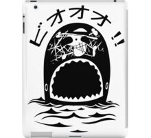 Laboon One Piece - The whale on the red line iPad Case/Skin