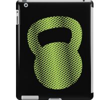 Kettlebell Halftone iPad Case/Skin