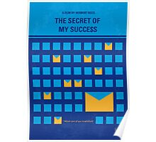 No464 My THE SECRET SUCCES minimal movie poster Poster