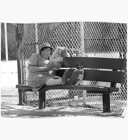 Sitting In The Park Poster