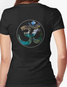 OM_GAIA_2 Womens Fitted T-Shirt