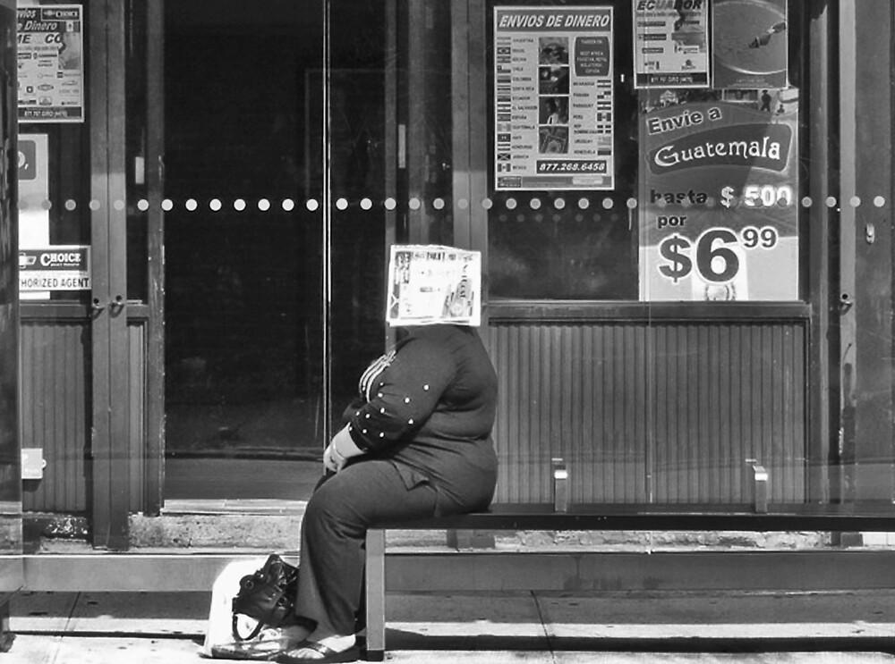 Bus Stop by Mistyarts