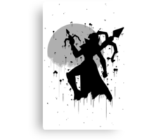 Vayne Ink Canvas Print