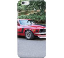 1970 Ford Mustang Boss 302 iPhone Case/Skin