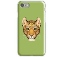 Leopard Face iPhone Case/Skin