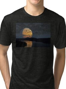 The Moon And The River Tri-blend T-Shirt