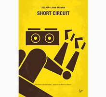 No470 My Short Circuit minimal movie poster Unisex T-Shirt
