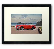 Austin V8 Healey Framed Print