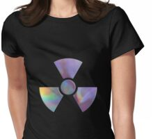 Radiation warning symbol Womens Fitted T-Shirt