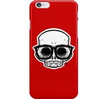 Nerd Skull iPhone Case/Skin
