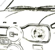 Retro Motor Company - Mk1 Escort Mexico Sticker