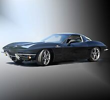 1963 'Retro' Corvette Stingray by DaveKoontz