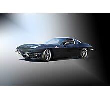1963 'Retro' Corvette Stingray Photographic Print