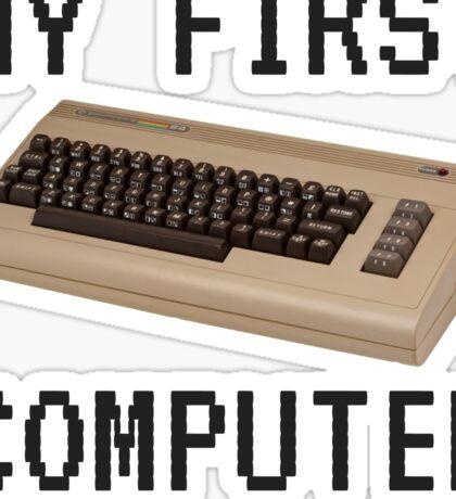 My First Computer - Commodore 64 Sticker