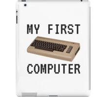 My First Computer - Commodore 64 iPad Case/Skin