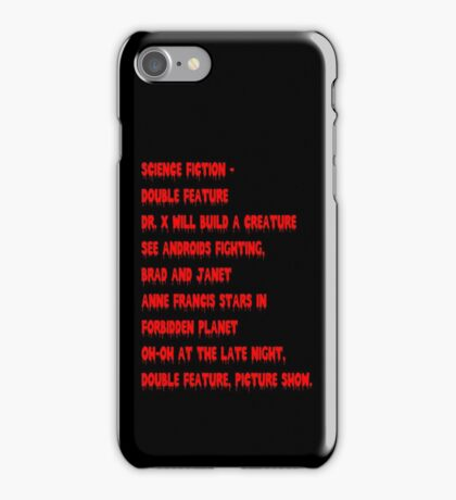 Science Fiction-Double Feature iPhone Case/Skin