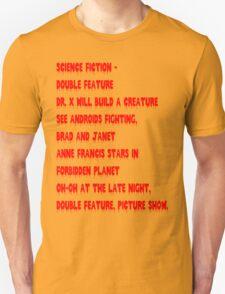 Science Fiction-Double Feature Unisex T-Shirt
