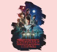 stranger things Kids Tee