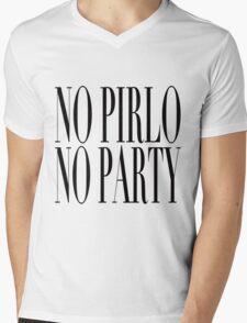 No Pirlo, No Party Mens V-Neck T-Shirt