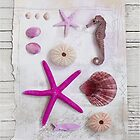 Pink beach collection by artsandsoul