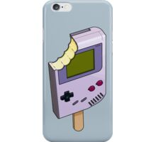 Game Boy Ice Cream iPhone Case/Skin