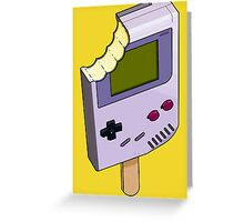 Game Boy Ice Cream Greeting Card