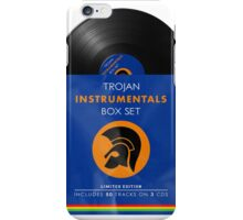 Trojan: Instrumentals Box Set Vinyl Cover iPhone Case/Skin