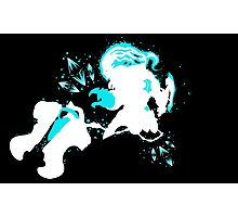 Championship Thresh Crystals Black Photographic Print