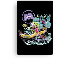 Monsters Fink II Canvas Print