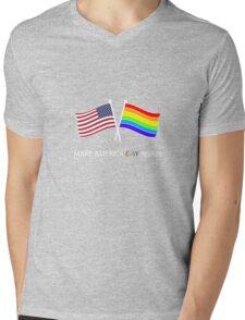 PRIDE STUFF  Mens V-Neck T-Shirt