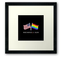 PRIDE STUFF  Framed Print