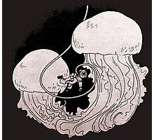 Dark Sea Panic - Meduse Photographic Print