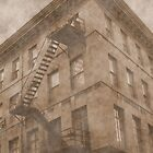 Stairs To The Roof by Paul Kepron