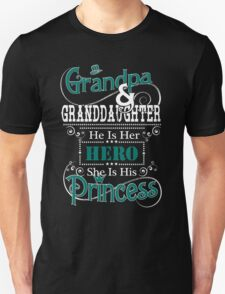 Grandpa and Granddaughter Unisex T-Shirt