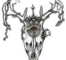 Deer skull by Jenny Wood
