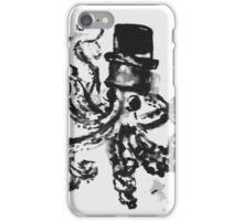 octopus in a top hat.  iPhone Case/Skin