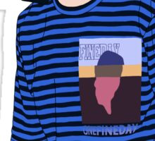BTS Jimin Fashion Lineart #1 Sticker