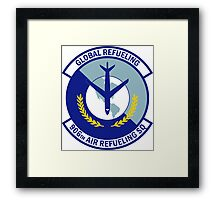 906th Air Refueling Squadron - Global Refueling Framed Print
