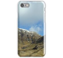 Glencoe mountains iPhone Case/Skin