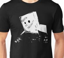 Bored... in the Navy Unisex T-Shirt