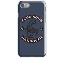 Scorpions - hannover iPhone Case/Skin