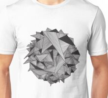 Abstract geometry background  Unisex T-Shirt
