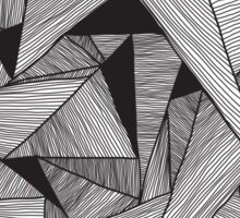 Abstract geometry background  Sticker