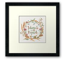 Jehovah Will Provide Framed Print