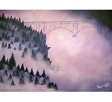 Deception Pass, Washington ~ Oil Painting Photographic Print