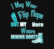 My hero wears mining boots Women's Relaxed Fit T-Shirt