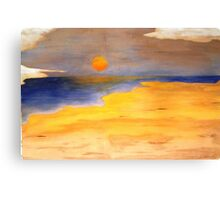 If you're fond of sand dunes and salty air Canvas Print