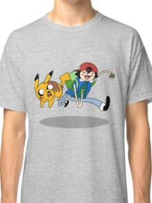 Pokemon Adventure Time Classic T-Shirt