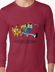 Pokemon Adventure Time Long Sleeve T-Shirt
