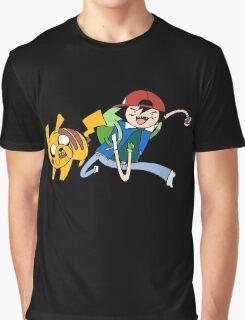Pokemon Adventure Time Graphic T-Shirt
